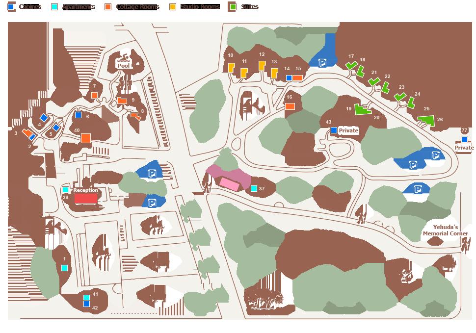Vered Hagalil Map